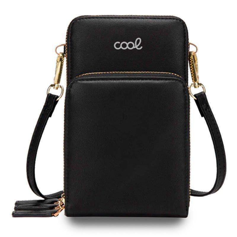 "Cool Funda Universal Bag Premium Negra Hasta 6.5"""