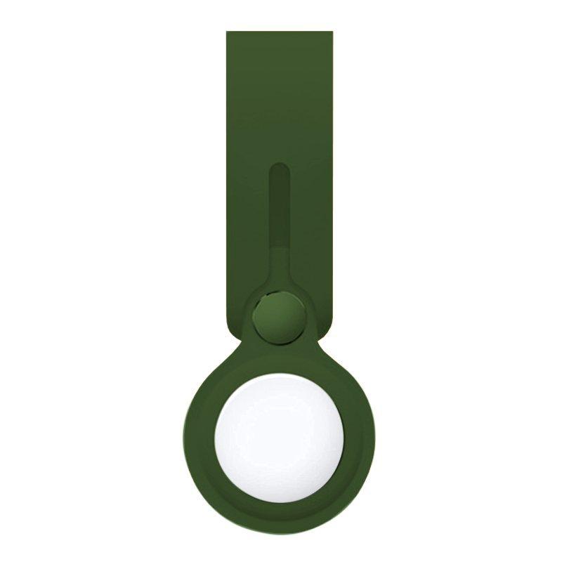 Cool Loop Llavero Silicona Verde Compatible Con AirTag
