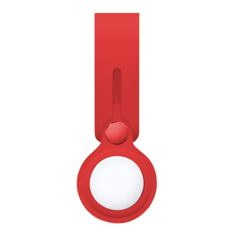Cool Loop Llavero Silicona Rojo Compatible Con AirTag