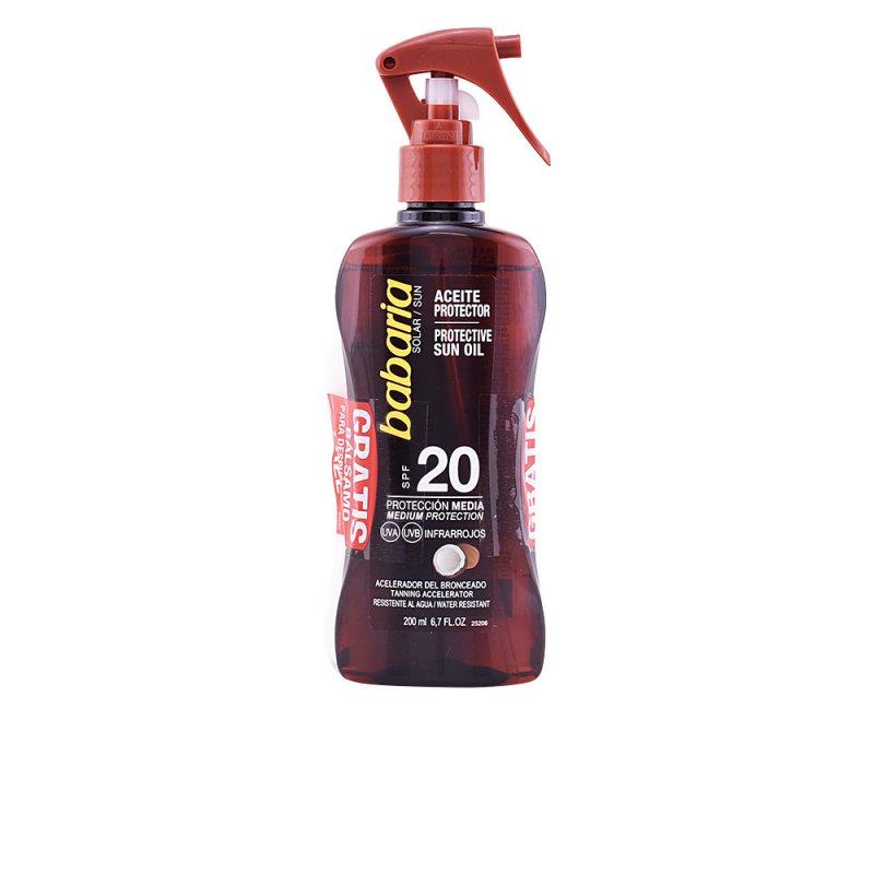 Babaria Solar Aceite Protector Coco SPF20 Spray