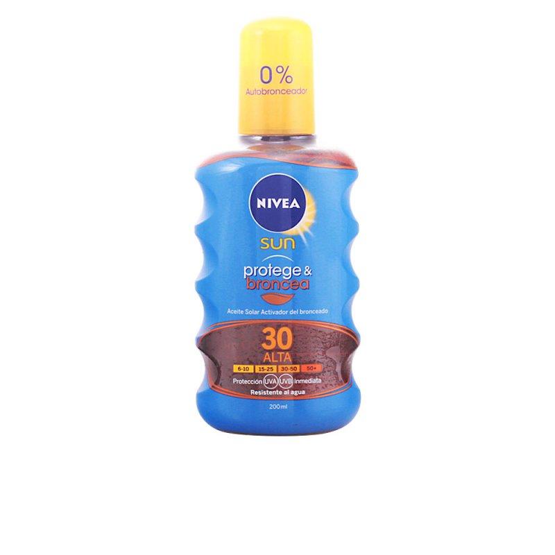 Nivea Sun Protege & Broncea Aceite SPF30 Spray 200ml