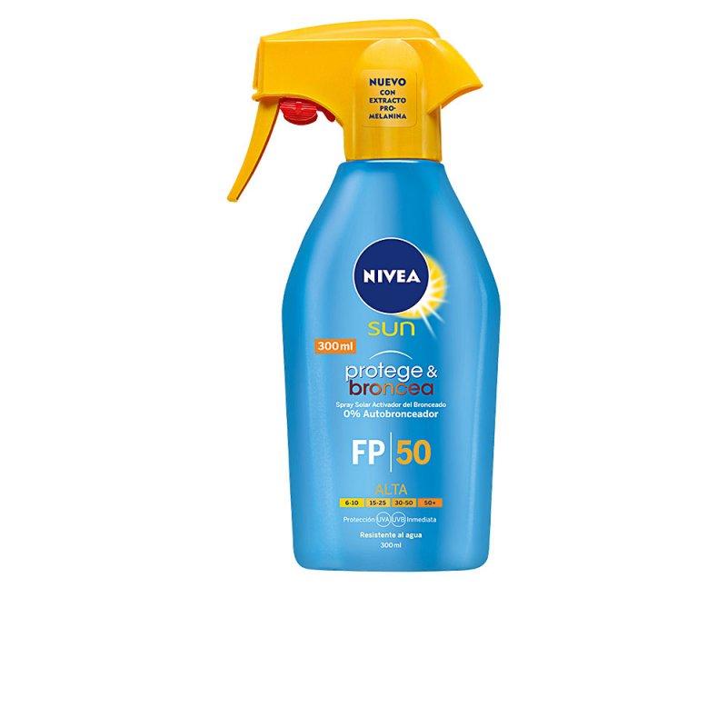 Nivea Sun Protege & Broncea SPF50 Spray 300ml
