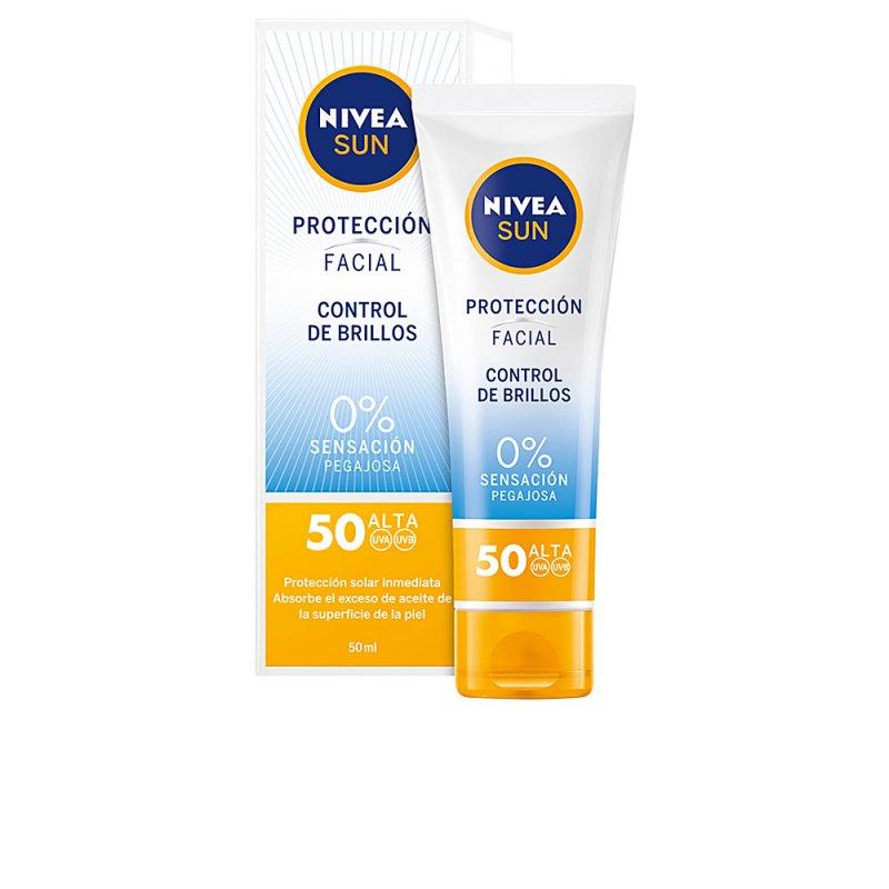Nivea Sun Facial Control De Brillos SPF50 Facial 50ml