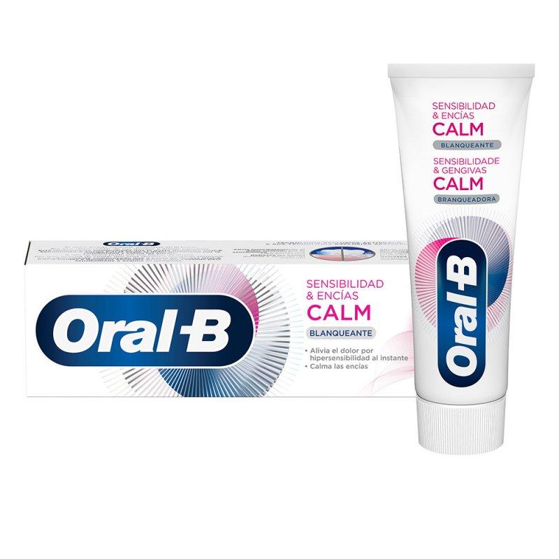 Oral-B Sensibilidad & Encías Calm Blanqueante Dentífrico Pasta De Dientes 75ml