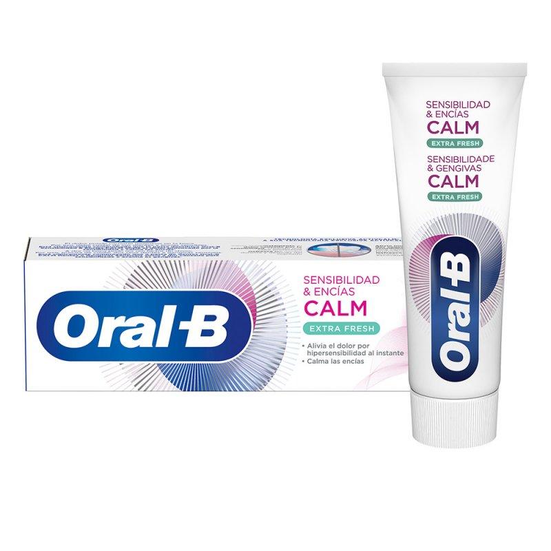 Oral-B Sensibilidad & Encías Calm Extra Fresh Dentífrico Pasta De Dientes 75ml