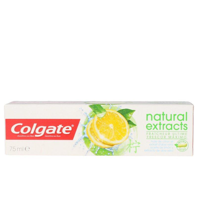 Colgate Natural Extracts Frescor Máximo Pasta Dentífrica 75ml