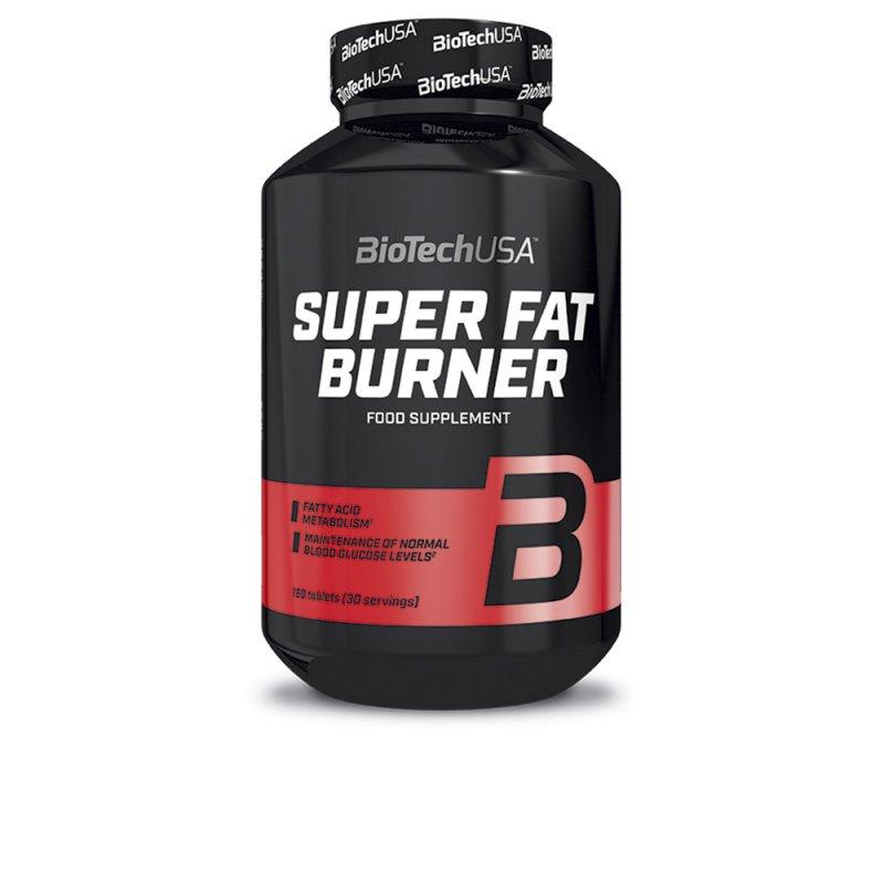 Biotech Usa Super Fat Burner Bloqueador De Grasas 120 Tabletas
