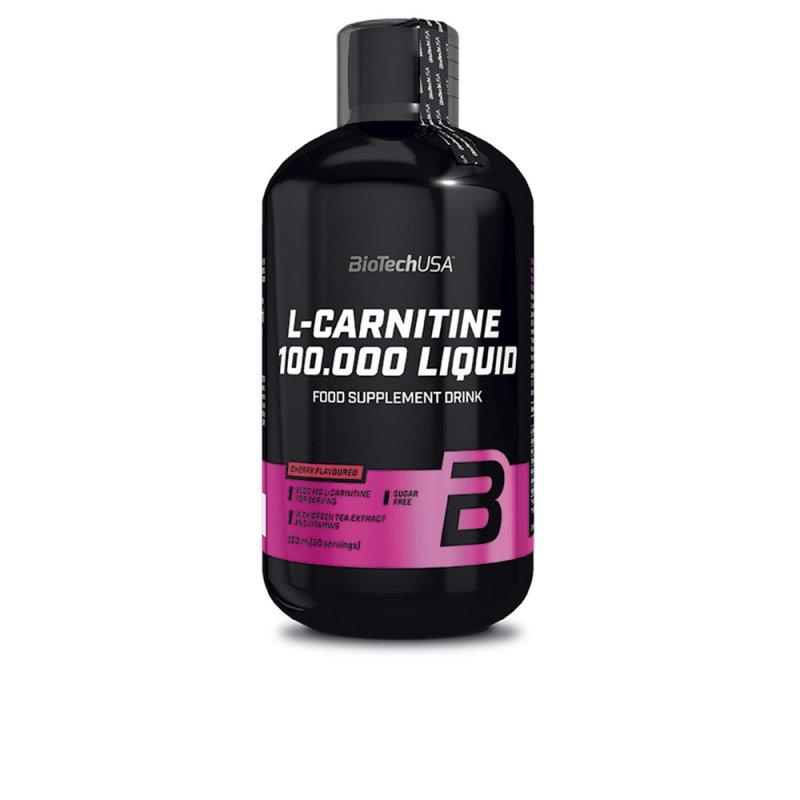 Biotech Usa L-Carnitine 100-000 Liquid Cereza 500ml