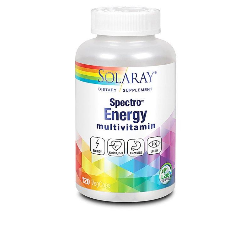 Solaray Spectro Energy Complemento Vitamínico 120 Cápsulas Veganas