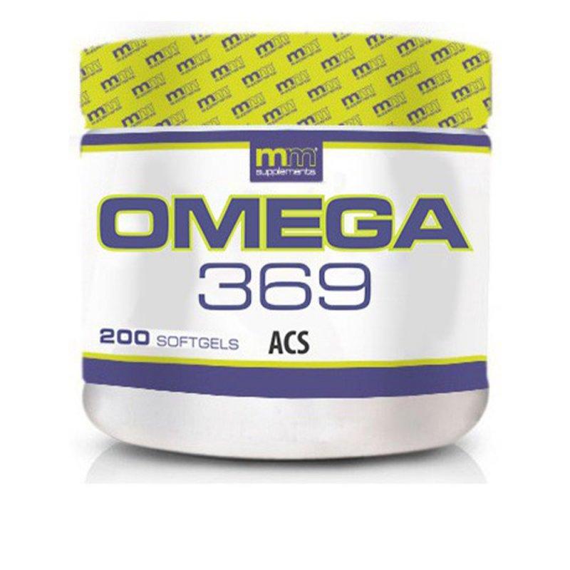 Mm Supplements Omega 369 200 Softgels
