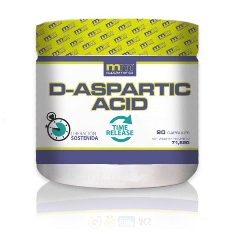 Mm Supplements D-Aspartic Acid Suplemento 90 Cápsulas