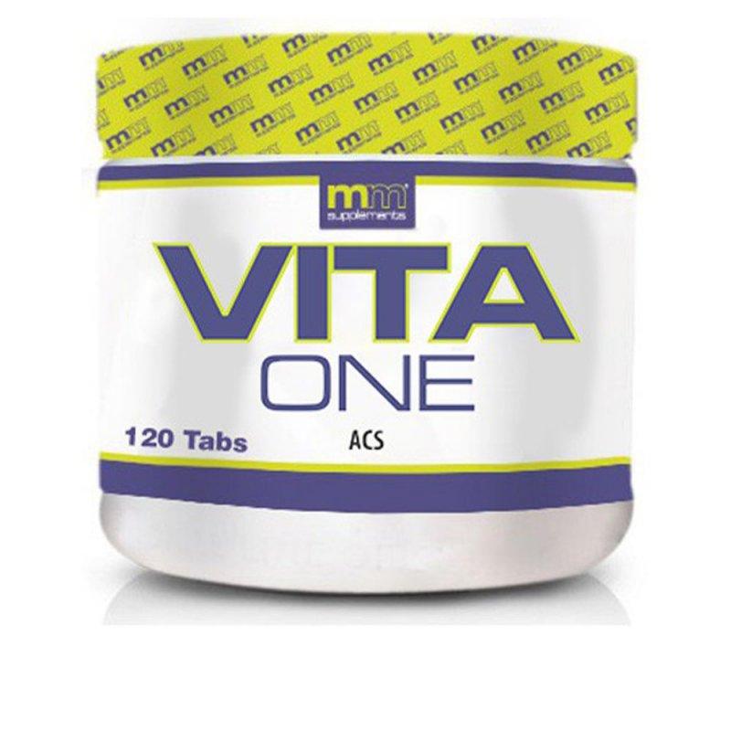 Mm Supplements Vita One Minerales Y Oligoelementos 120 Tabletas