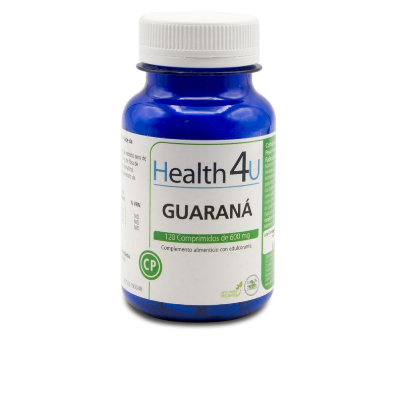 H4U Guaraná 120 Comprimidos De 600mg