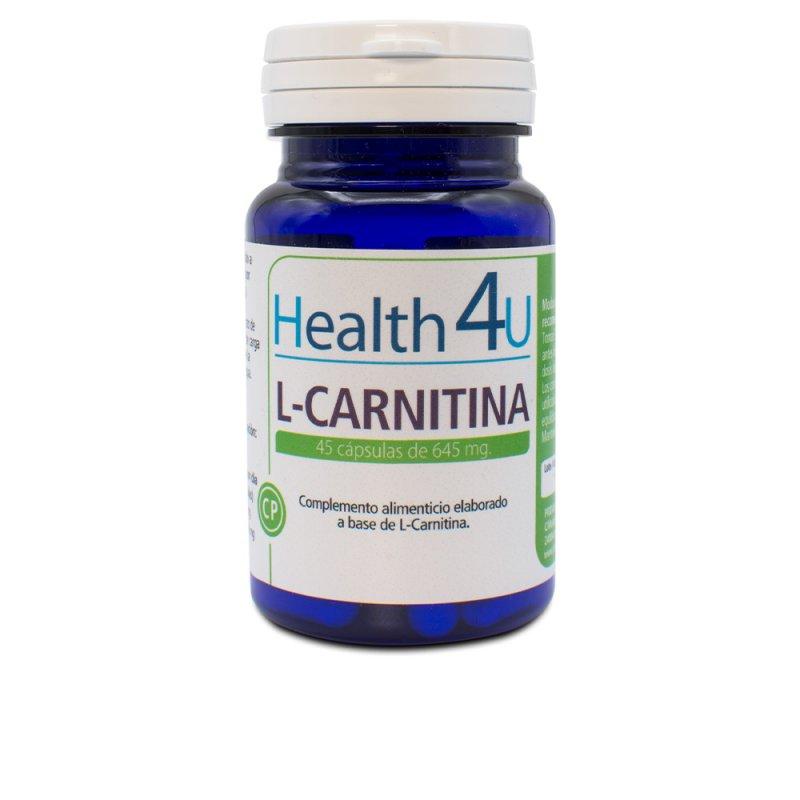 H4U L-Carnitina Suplemento 45 Cápsulas De 645mg