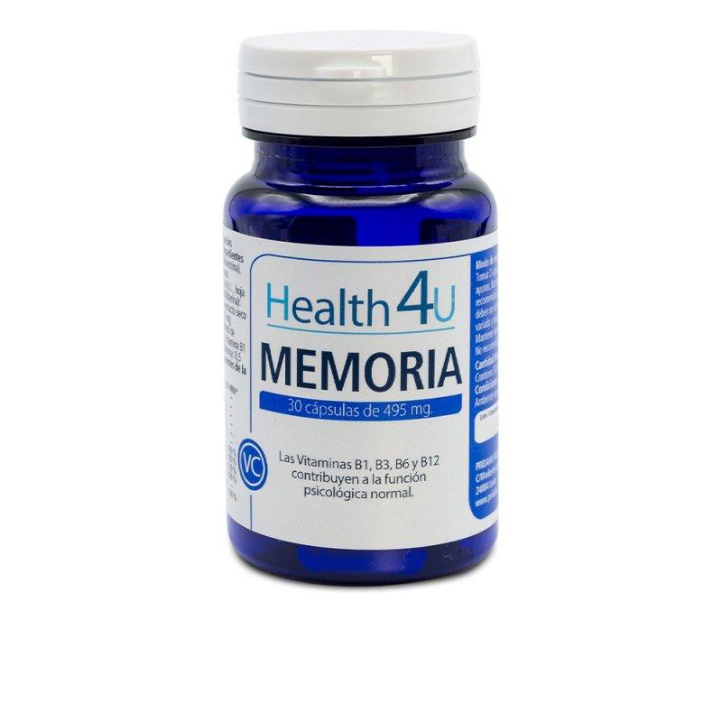 H4U Memoria 30 Cápsulas Complemento Vitamínico De 495mg