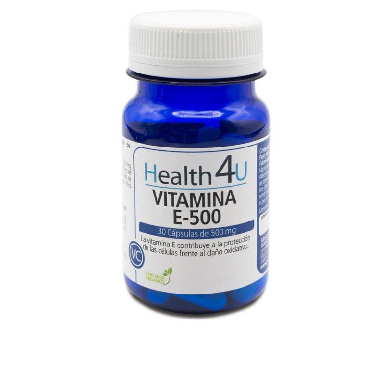 H4U Vitamina E-500 30 Cápsulas De 500mg
