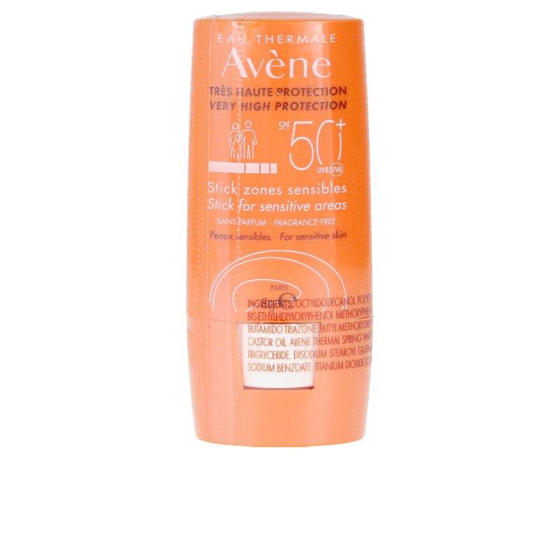 Avène Solaire Haute Protection Stick Zones Sensibles SPF50+ Facial 8ml