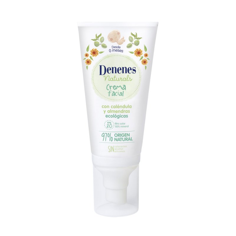 Denenes Naturals Crema Facial SPF20 50ml