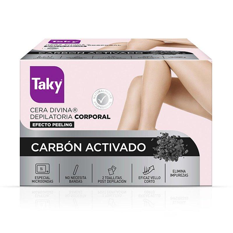 Taky Carbon Activado Cera Divina Depilatoria Corporal 300ml