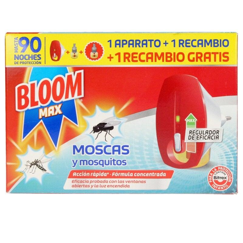 Bloom Max Moscas & Mosquitos Apto. Eléctrico Insecticida