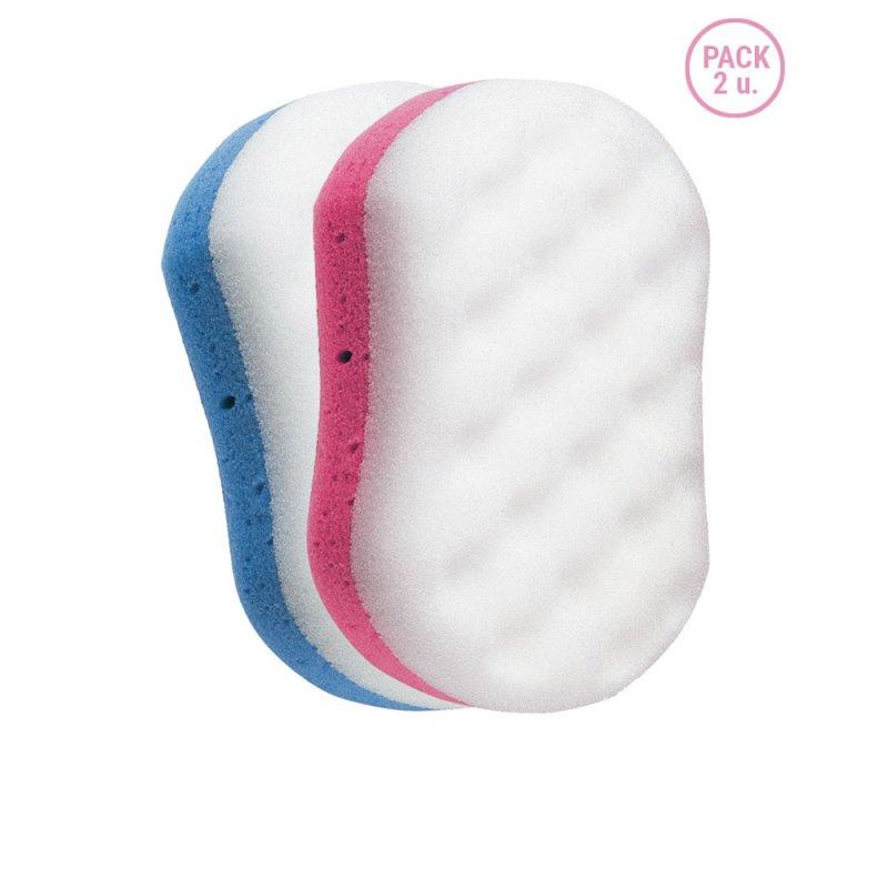 Beter Esponja De Baño Mixta-Peeling Suave-Rugoso 2 Unidades