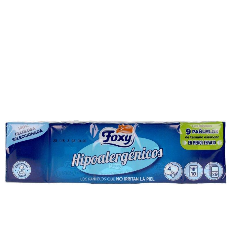 Foxy Hipoalergenicos Pañuelos De Papel 10x9 Unidades