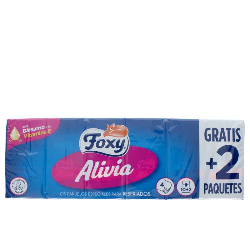 Foxy Alivia Pañuelos Cuidado Nasal 12x9 Unidades