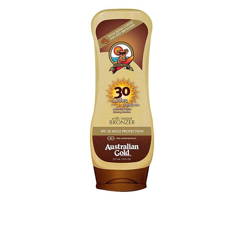Australian Gold Lotion Sunscreen With Bronzer SPF30 237ml