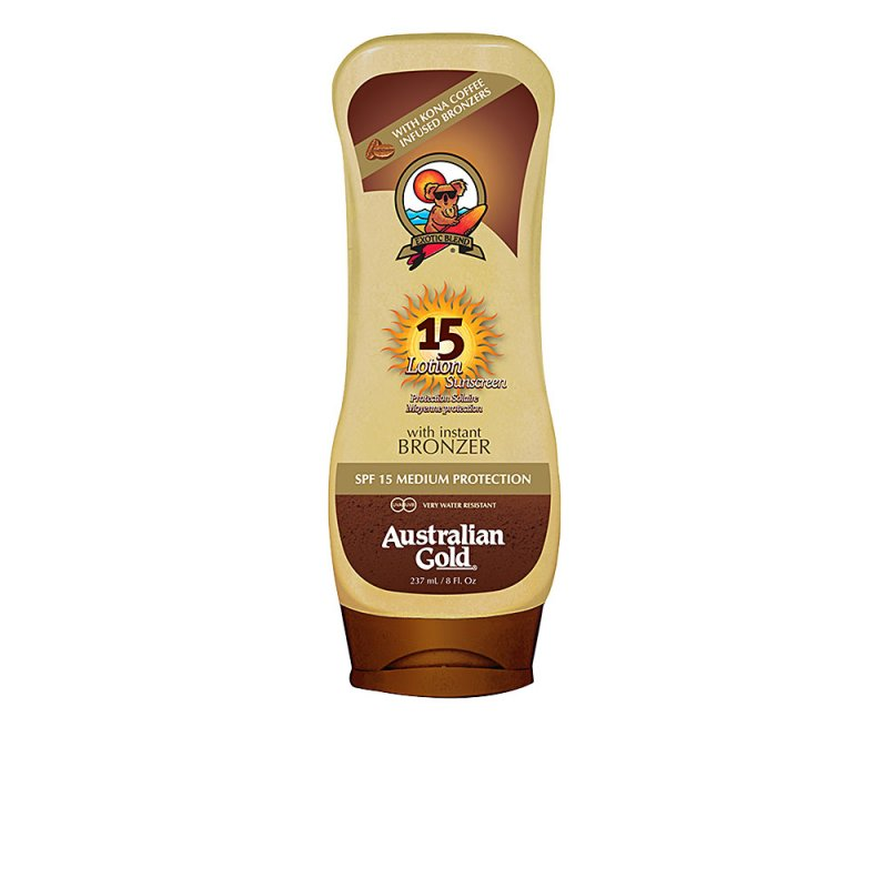 Australian Gold Lotion Sunscreen With Bronzer SPF15 237ml