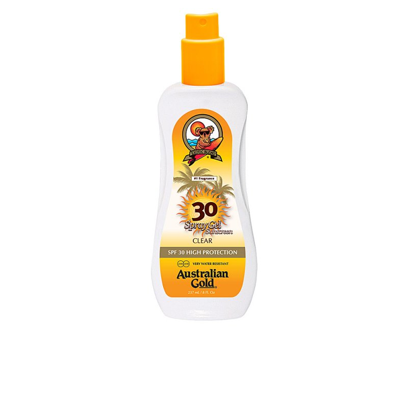 Australian Gold Sunscreen Spray Gel Clear SPF30 237ml