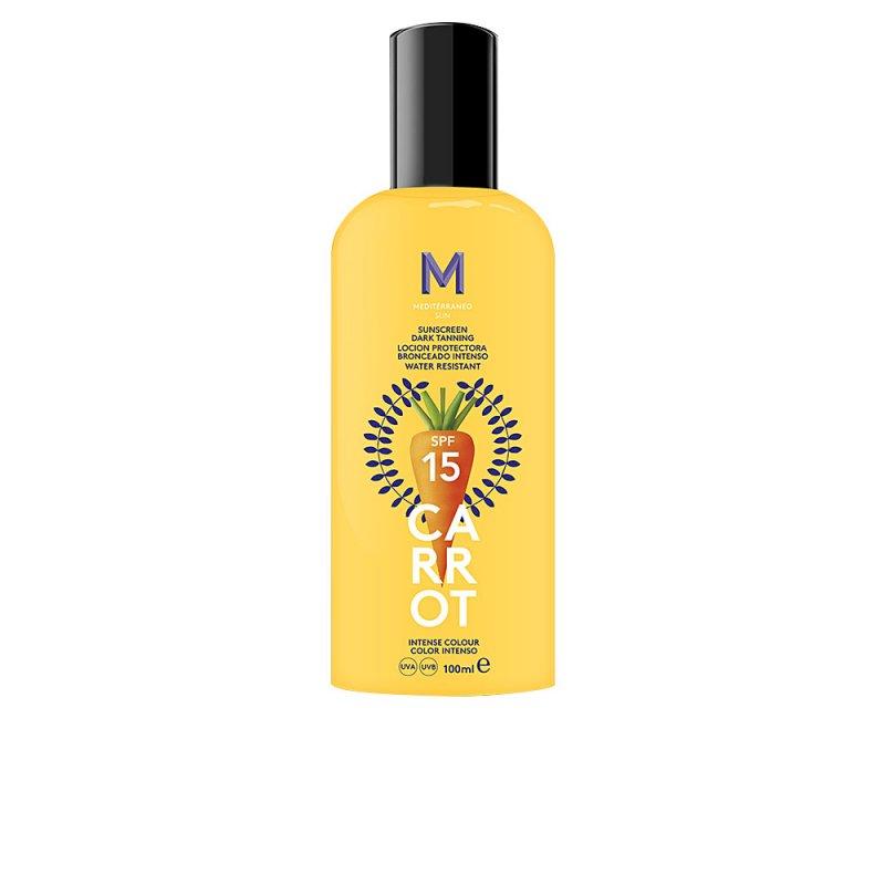Mediterraneo Sun Carrot Sunscreen Dark Tanning SPF15 100ml