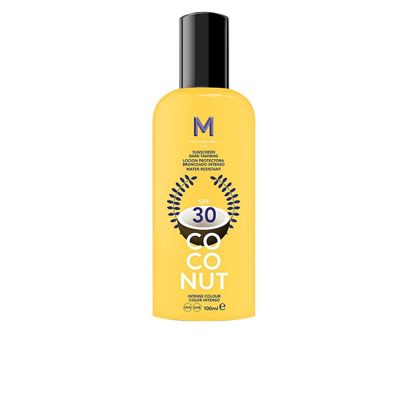 Mediterraneo Sun Coconut Sunscreen Dark Tanning SPF30 100ml
