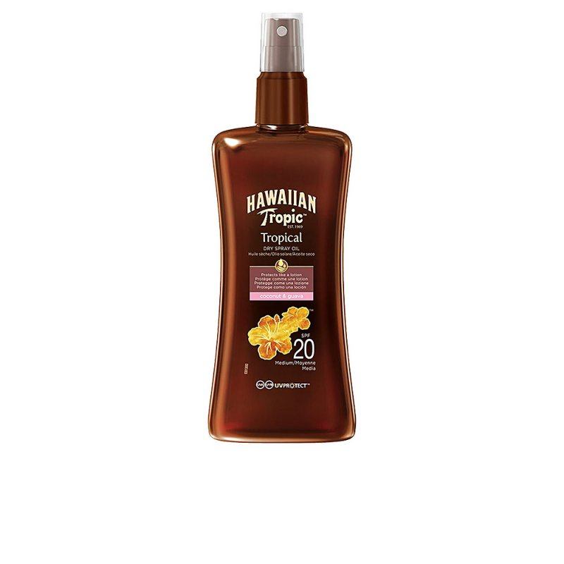 Hawaiian Tropic Coconut & Guava Dry Oil SPF20 Spray 200ml