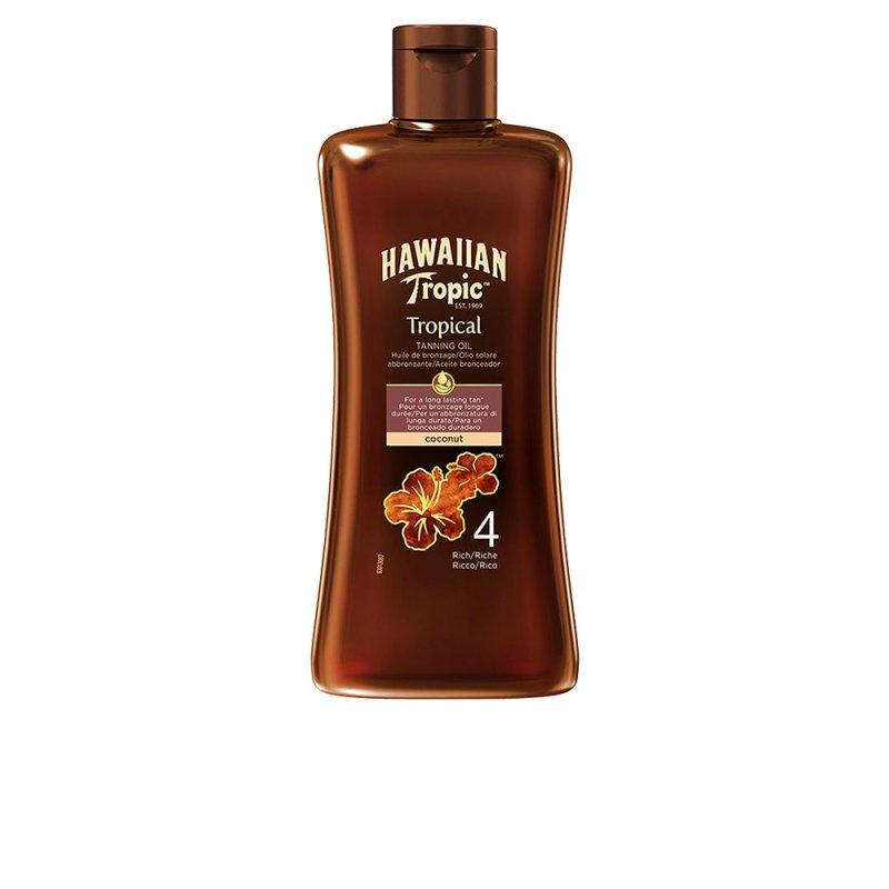 Hawaiian Tropic Coconut Tropical Tanning Oil SPF4 200ml