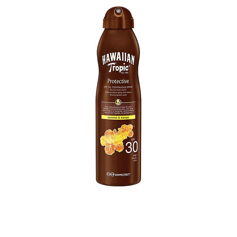 Hawaiian Tropic Coconut & Mango Dry Oil SPF30 Spray 180ml
