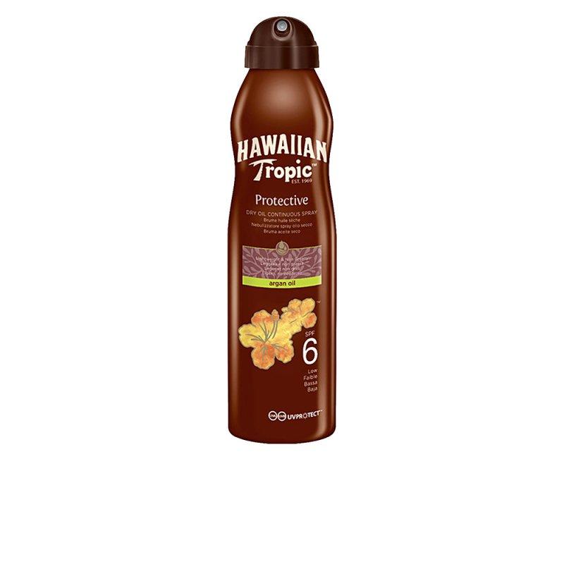 Hawaiian Tropic Protective Argán Oil SPF6 Spray 177ml