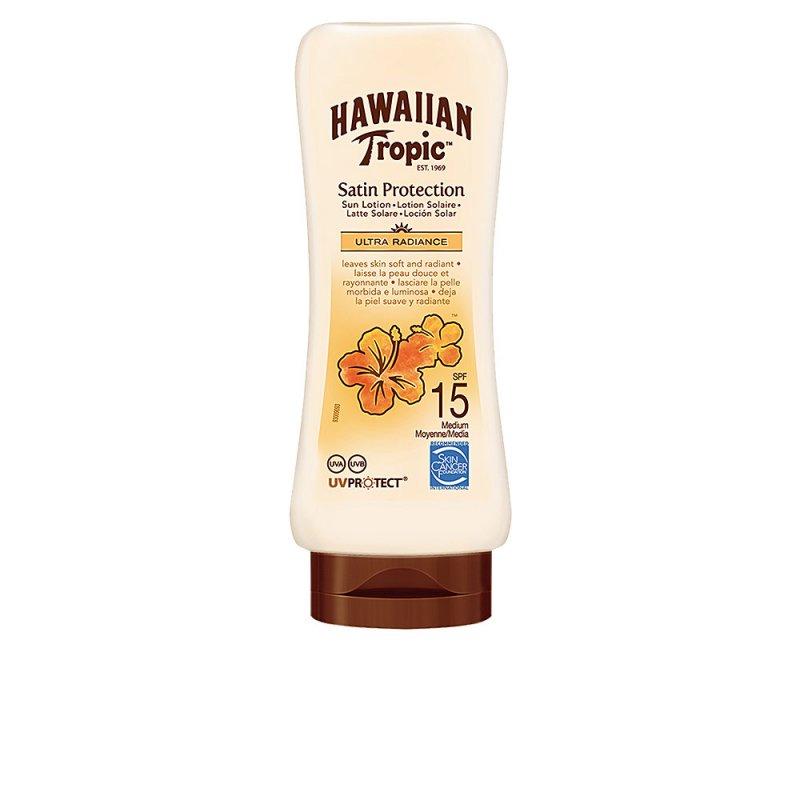 Hawaiian Tropic Satin Protection Ultra Radiance Sun Lotion SPF15 180ml