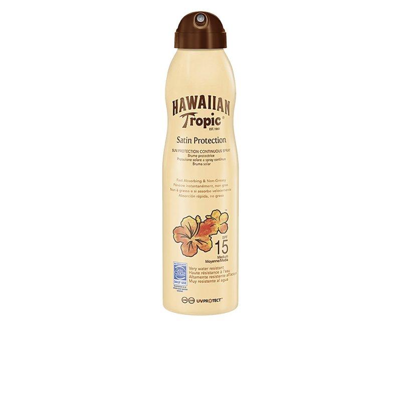 Hawaiian Tropic Satin Protection SPF15 Spray 220ml