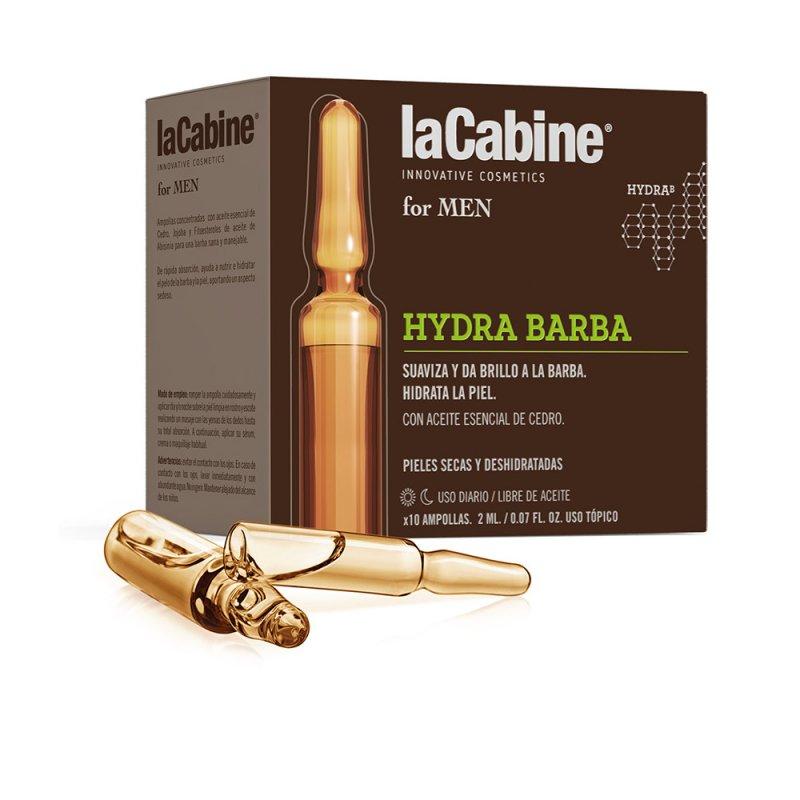 La Cabine For Men Ampollas Hydra Barba Cuidado De La Barba 10 Ampollas