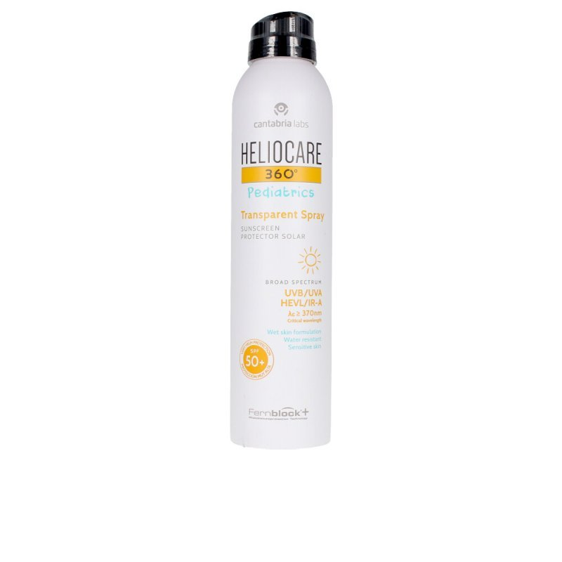 Heliocare 360º Pediatrics SPF50+ Transparent Spray 200ml