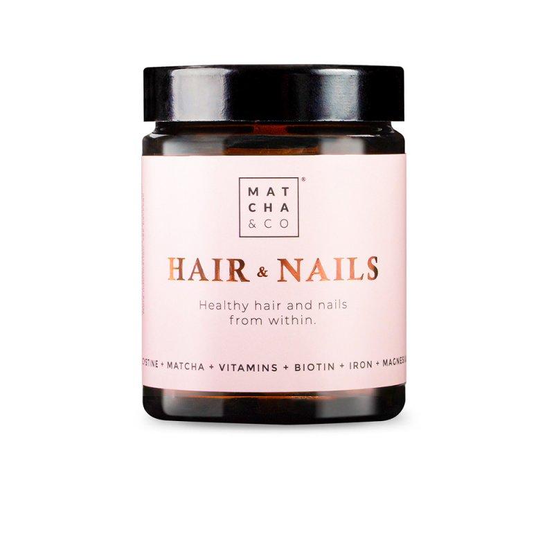 Matcha & Co Hair & Nails Suplemento 60 Cápsulas Veganas