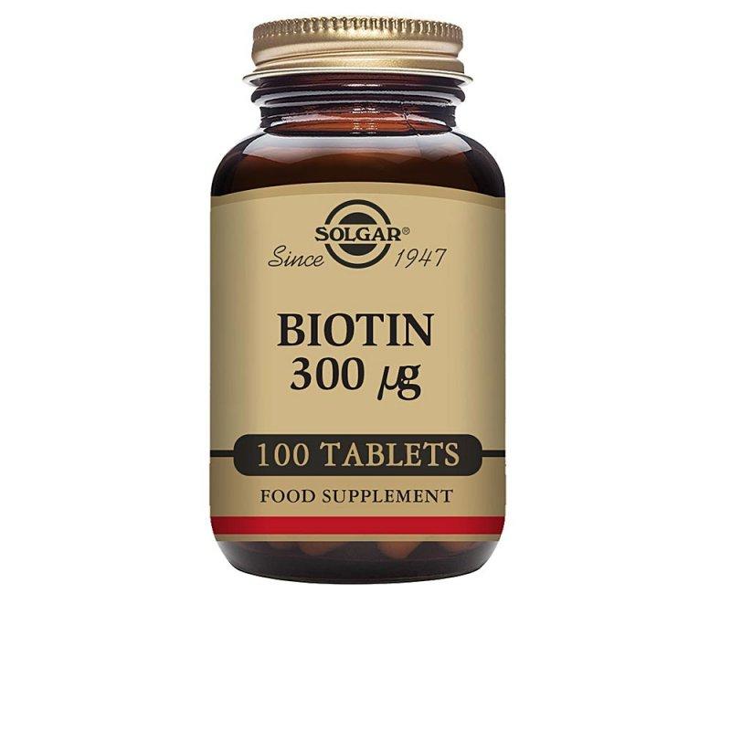 Solgar Biotina Complemento Vitamínico 100 Comprimidos De 300mg