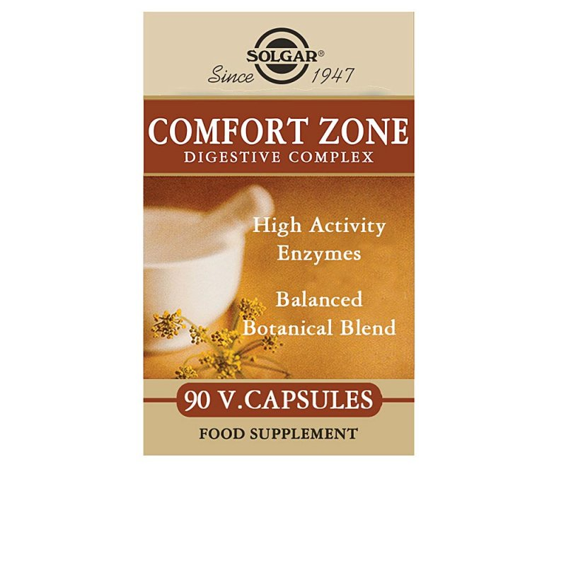 Solgar Comfort Zone Digestive Complex Suplemento 90 Cápsulas