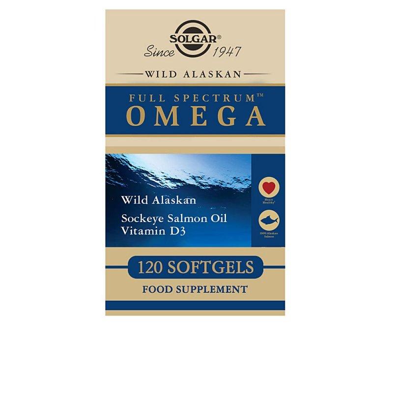 Solgar Full Spectrum Omega Y Ácidos Grasos 120 Cápsulas
