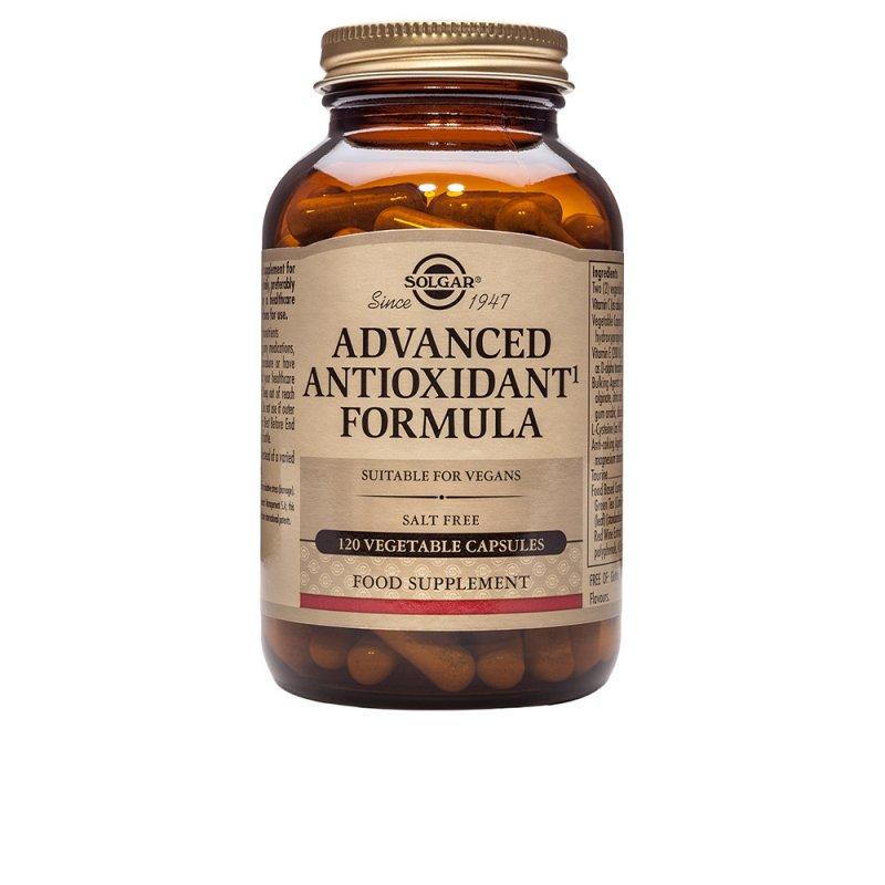 Solgar Formula Antioxidantes Avanzados 120 Cápsulas