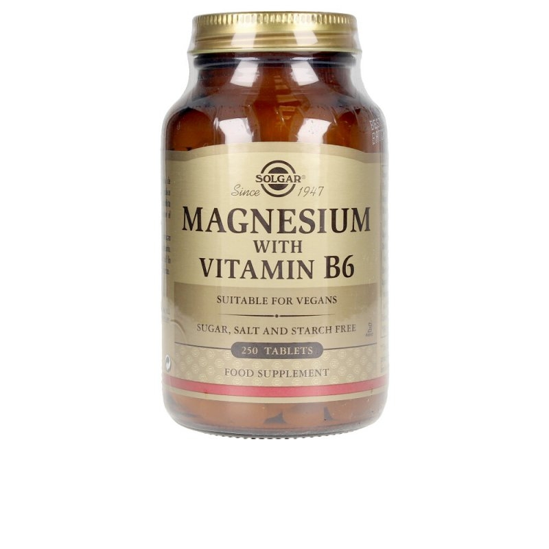 Solgar Magnesio + B6 250 Comprimidos