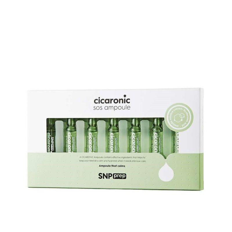 Snp Cicaronic Sos Tratamiento Facial Hidratante 7 Ampoule