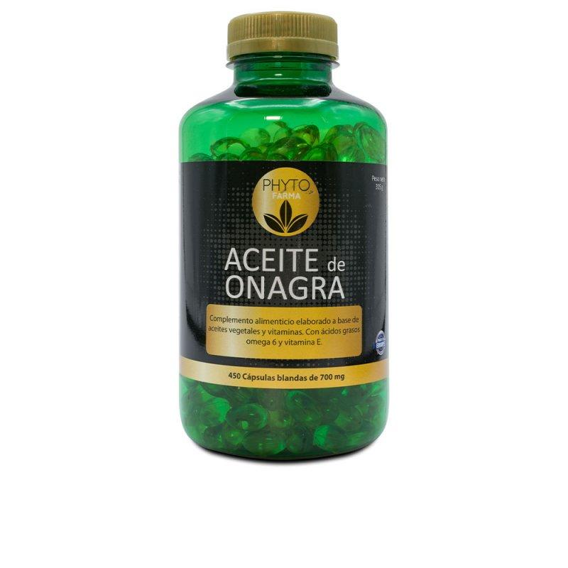 Phytofarma Perlas Aceite De Onagra 450 Cápsulas Blandas De 700mg