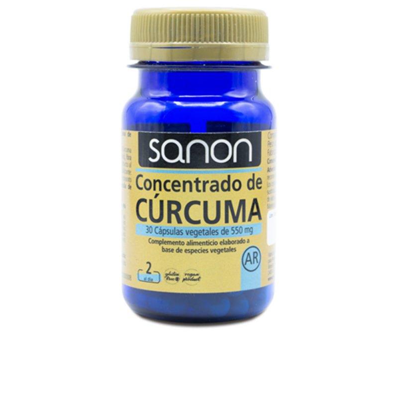 Sanon Concentrado De Cúrcuma 30 Cápsulas Veganas