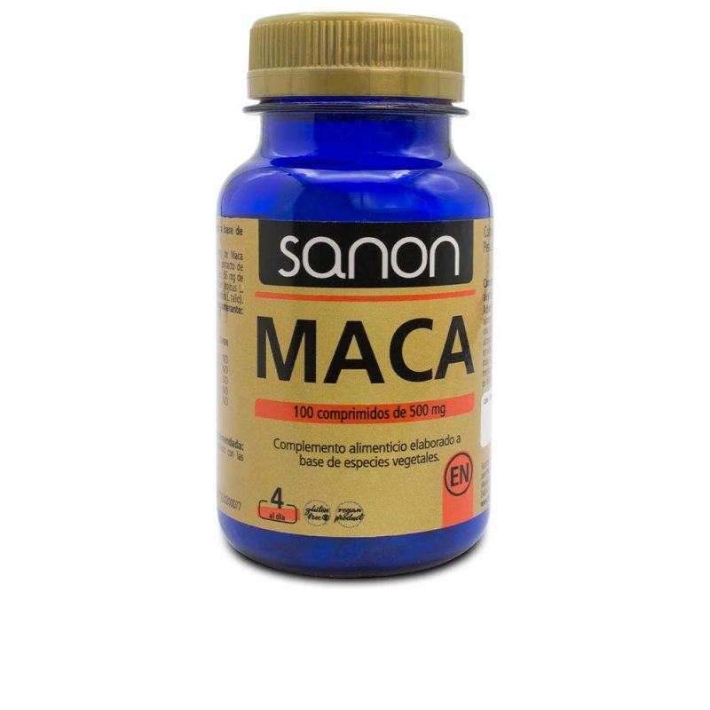 Sanon Maca Suplemento 100 Comprimidos De 500mg